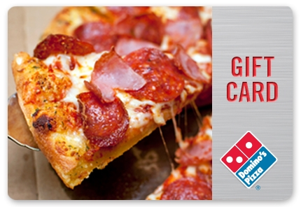 FREE $4-$500 Domino's Pizza Gift Card