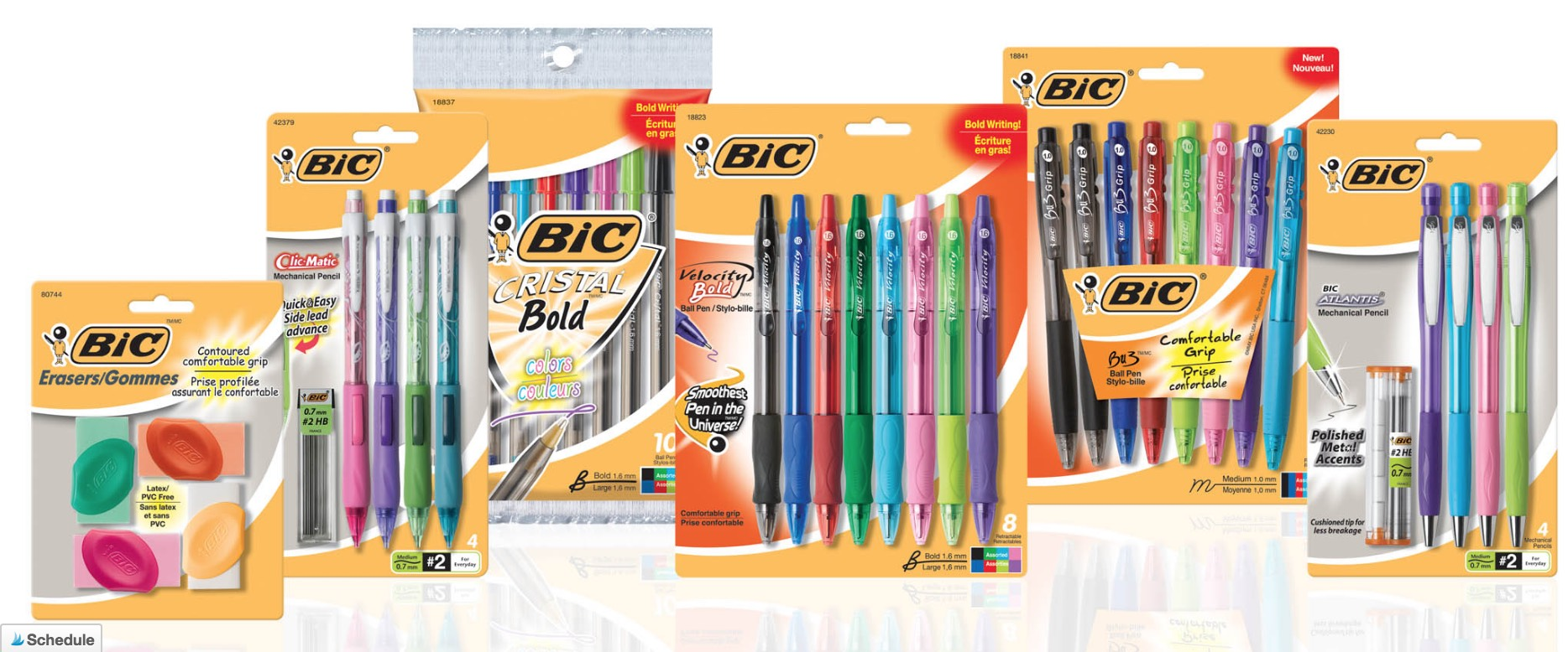 FREE BIC Stationary Products (Pens, Pencils and more!)