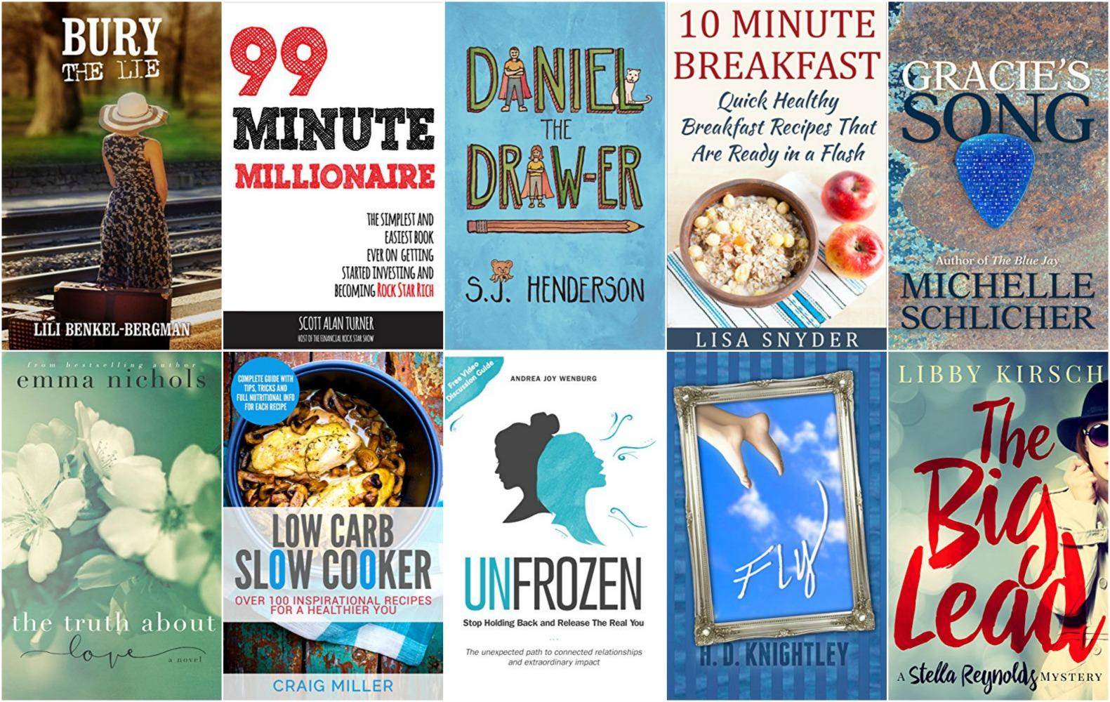 10 Free Kindle Books 8-29-16