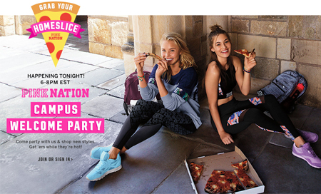 FREE Pizza Cellphone Case at Victoria's Secret (Today Only)