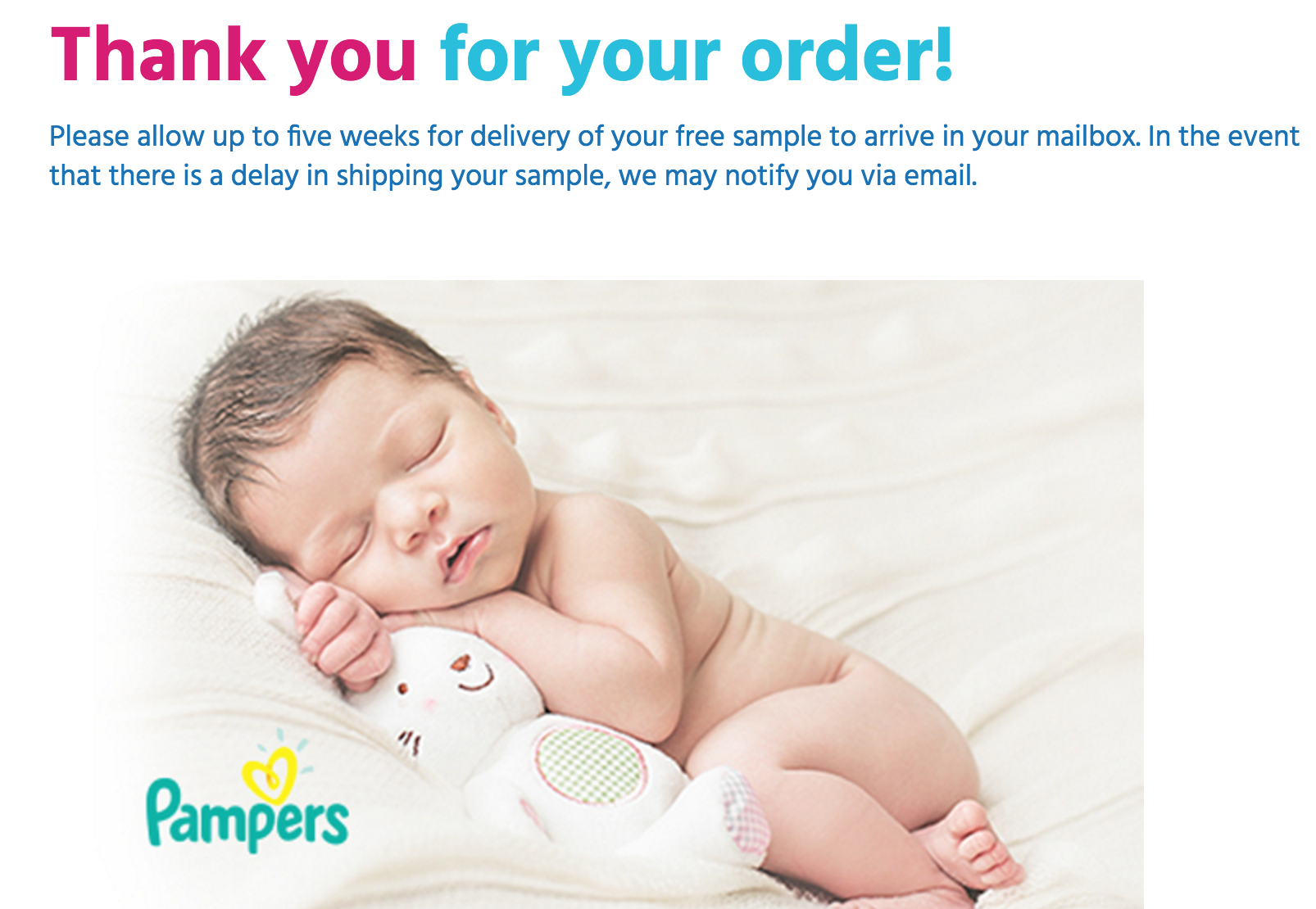 FREE Baby Welcome Box + FREE Shipping!