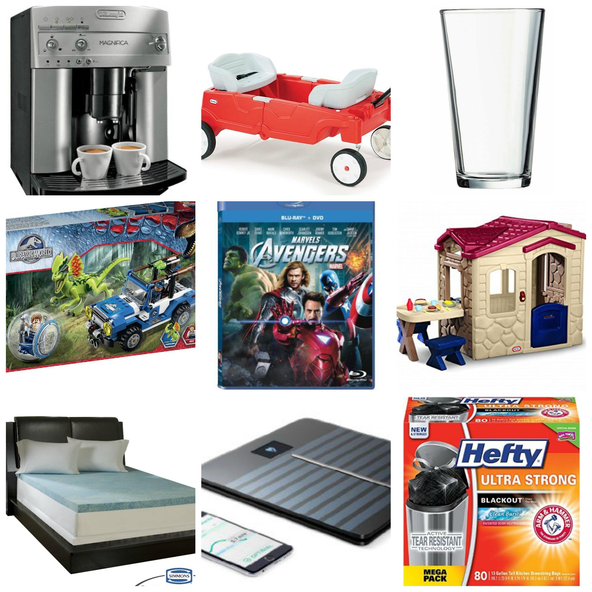 amazon  huge round up of deals  little tikes  lego  hefty