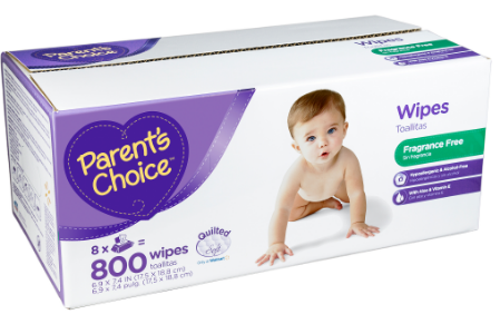 Shop for Parent's Choice Baby Wipes in Diapering. Buy products such as Parent's Choice Fragrance Free Baby Wipes (Choose Your Count) at Walmart and save.