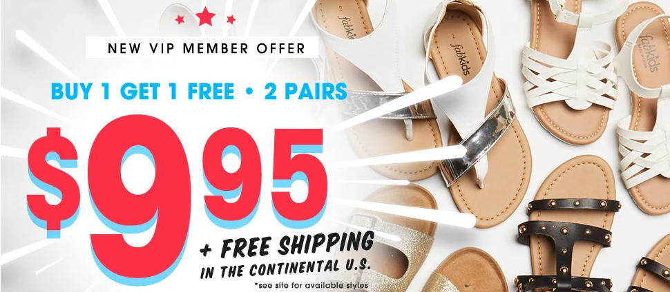 *HOT* Kid's Shoes Only $4.98 + FREE Shipping!