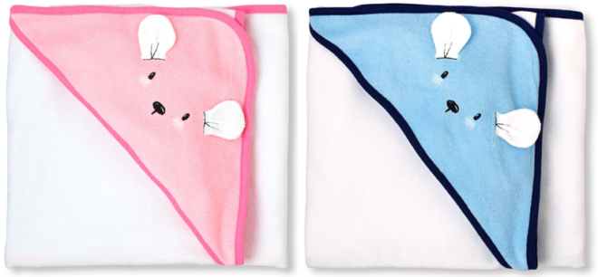 Mouse Hoodie Towels Only $9.98 Shipped (Reg. $25) at The Children's Place