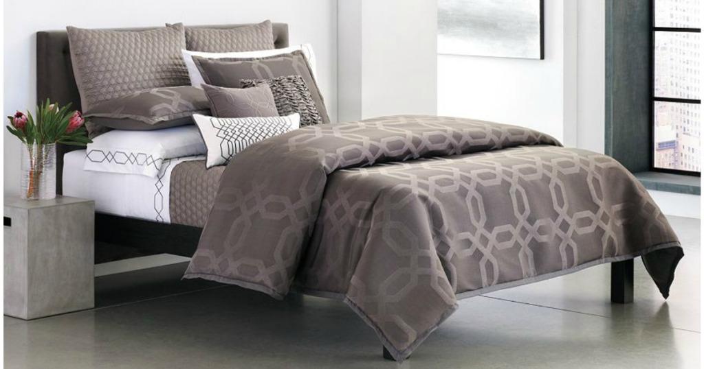 Simply Vera Vera Wang City Shadow 4 Pc Comforter Set Only