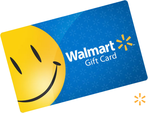 FREE $10 Walmart Gift Card! (Instant Win)