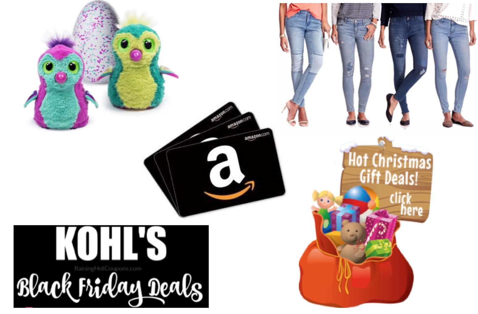 IMPORTANT Info for Black Friday, Giveaways, Santa\'s Toy Bag, KOHL\'S ...