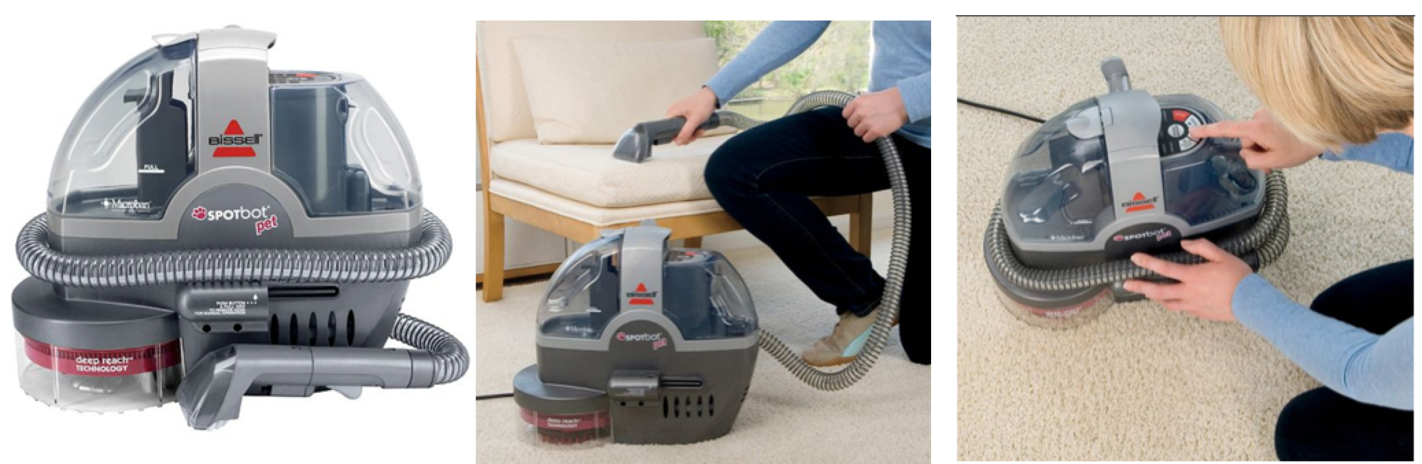 Kohl S Bissell Spot Bot Pet Portable Carpet Cleaner Only