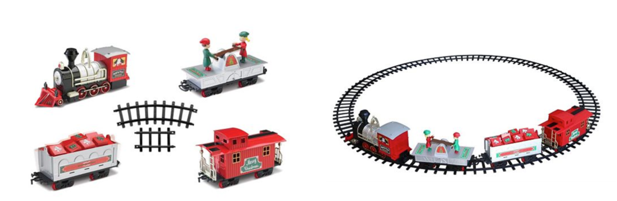 Kohl\'s: North Pole Junction Christmas Train Set ONLY $27.99 (Reg ...