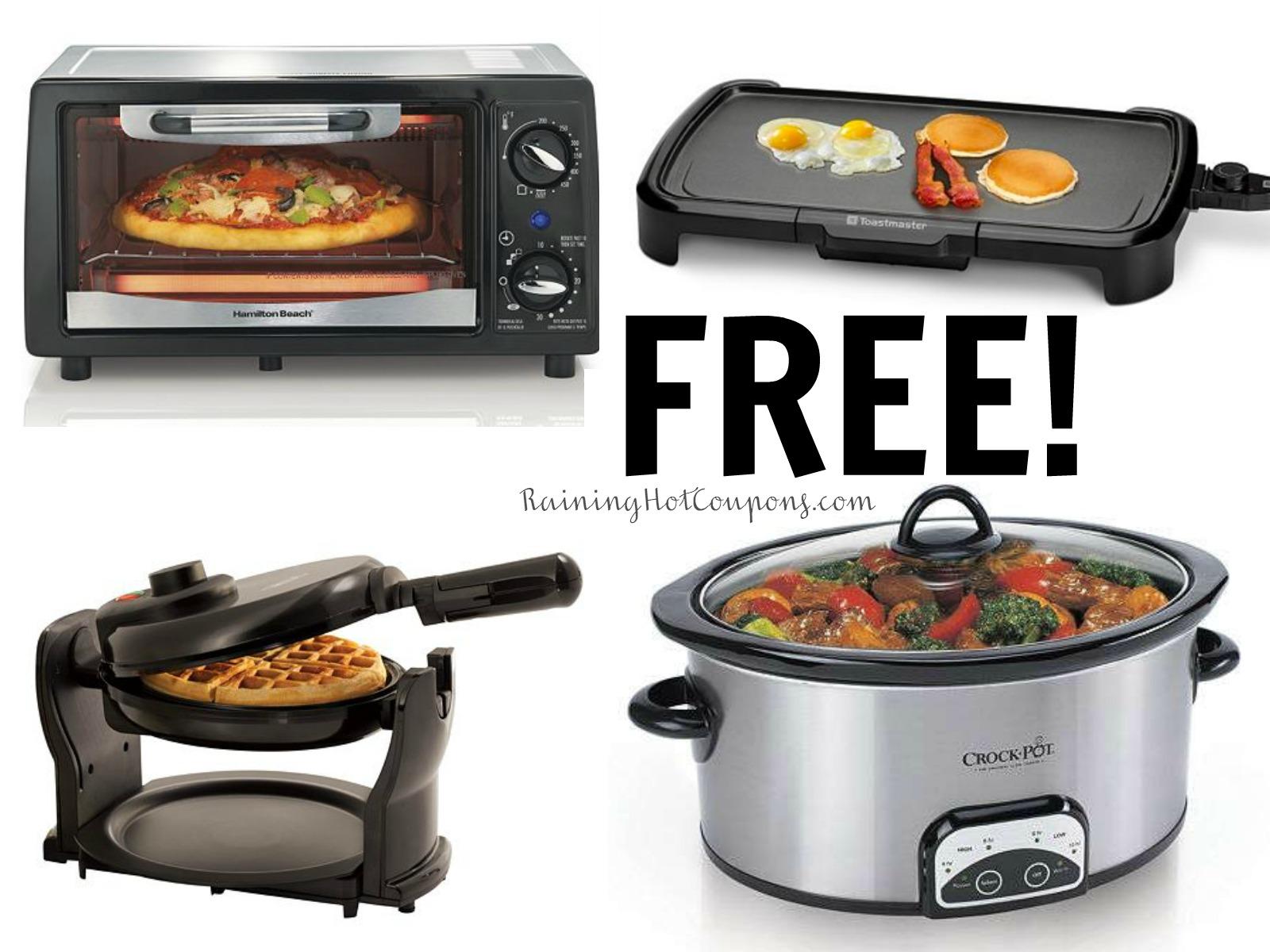 Kohl S Hot 3 Free Kitchen Appliances Shipped Crock Pot