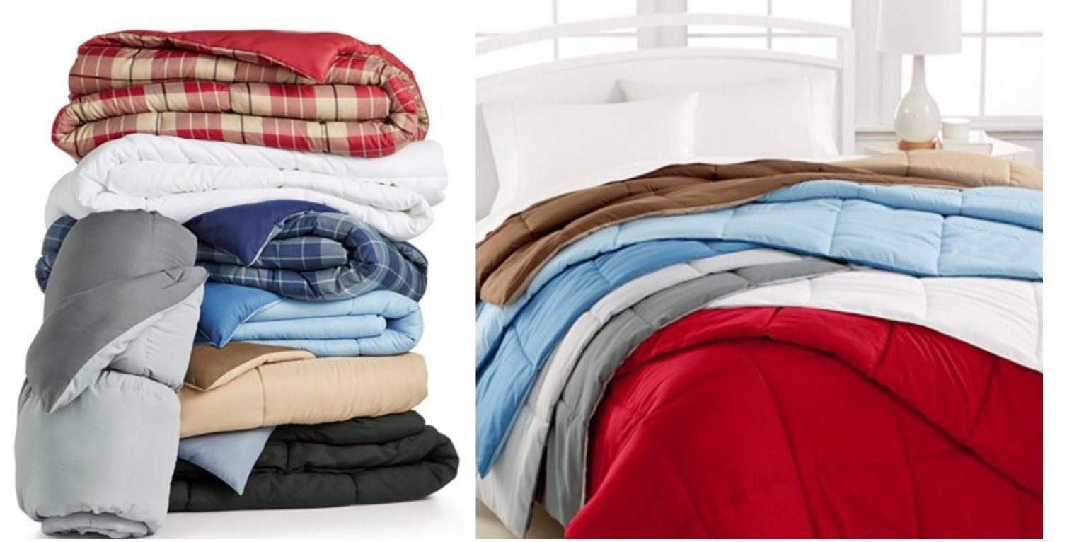 Home Design Down Alternative Comforters Only Reg 120