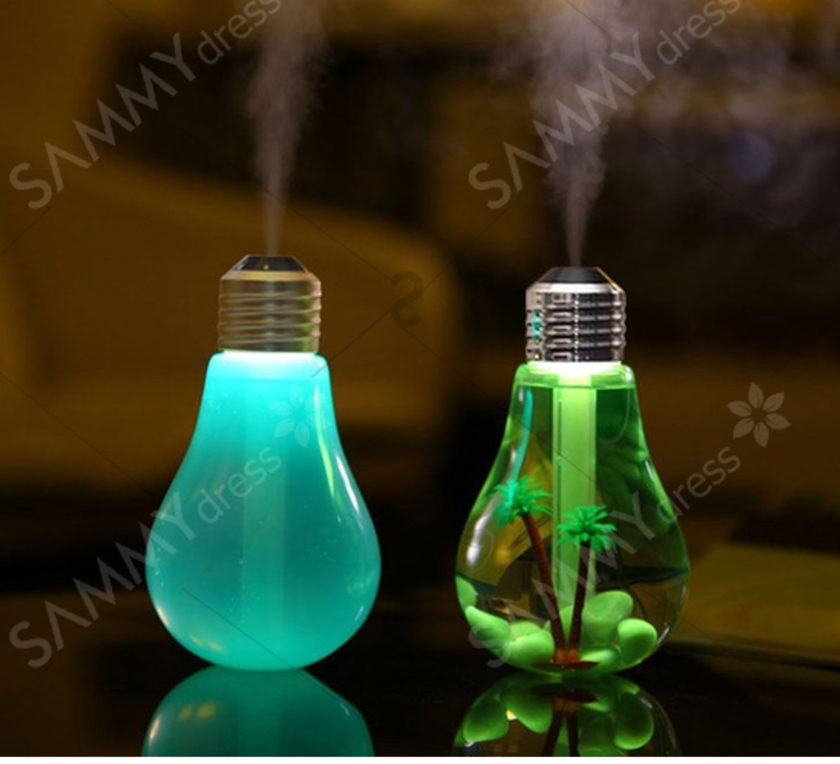 Portable 7 Color LED Night Light and Humidifier ONLY $6.00! #16B697