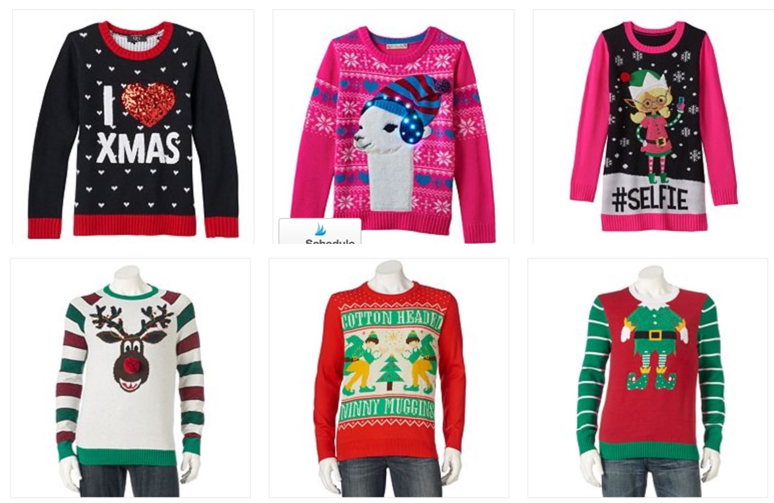 Hot Kohls Ugly Christmas Sweaters Only 799 Reg 3999