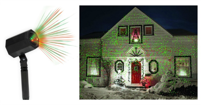 Holiday Time Christmas Outdoor Laser Light Only Reg 25
