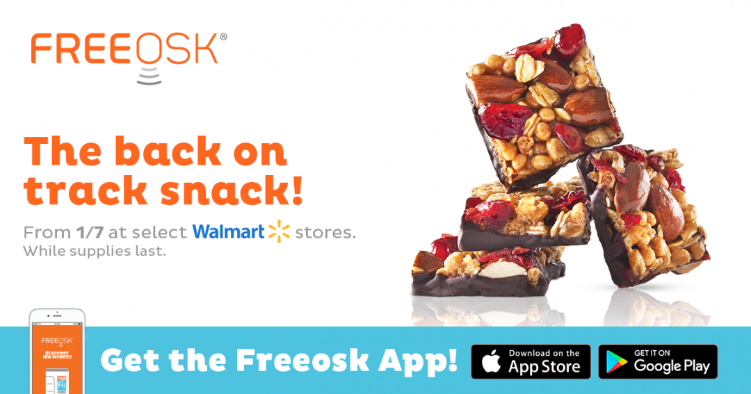 FREE Goodnessknows Snack Squares Sample!
