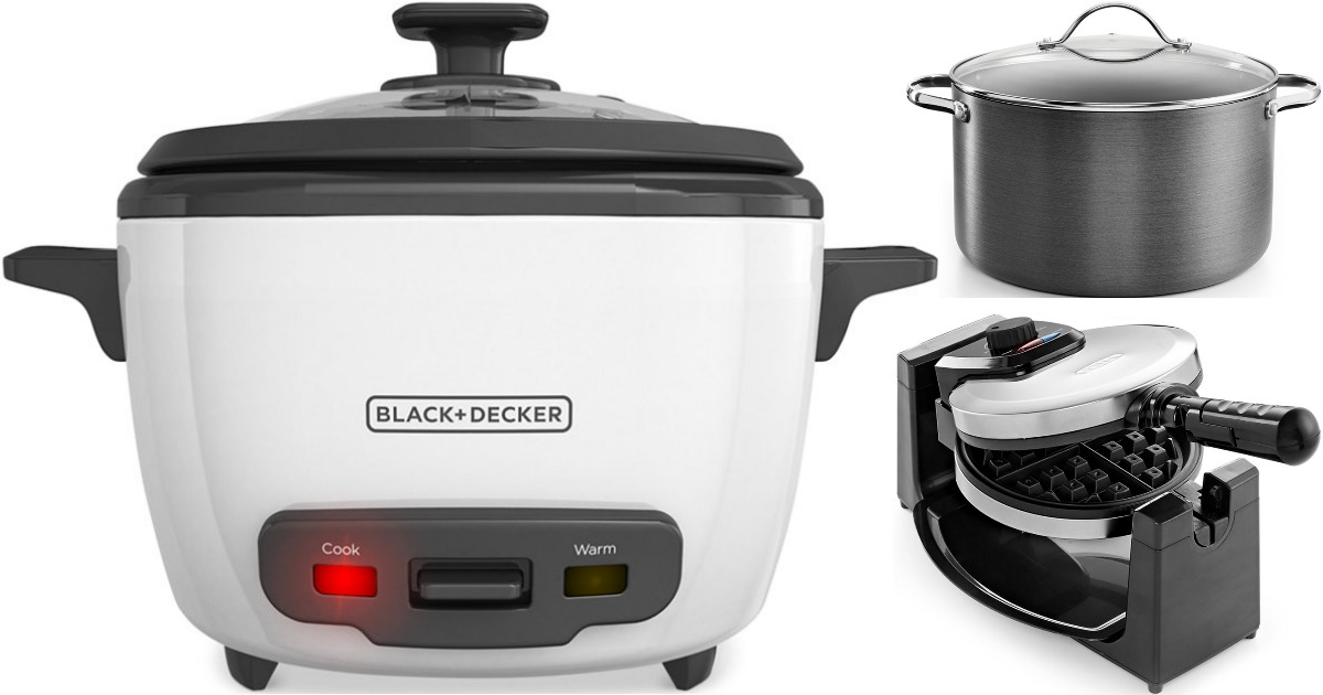 Small Kitchen Appliances Only $9.99 (Reg. up to $60) at Macy?s