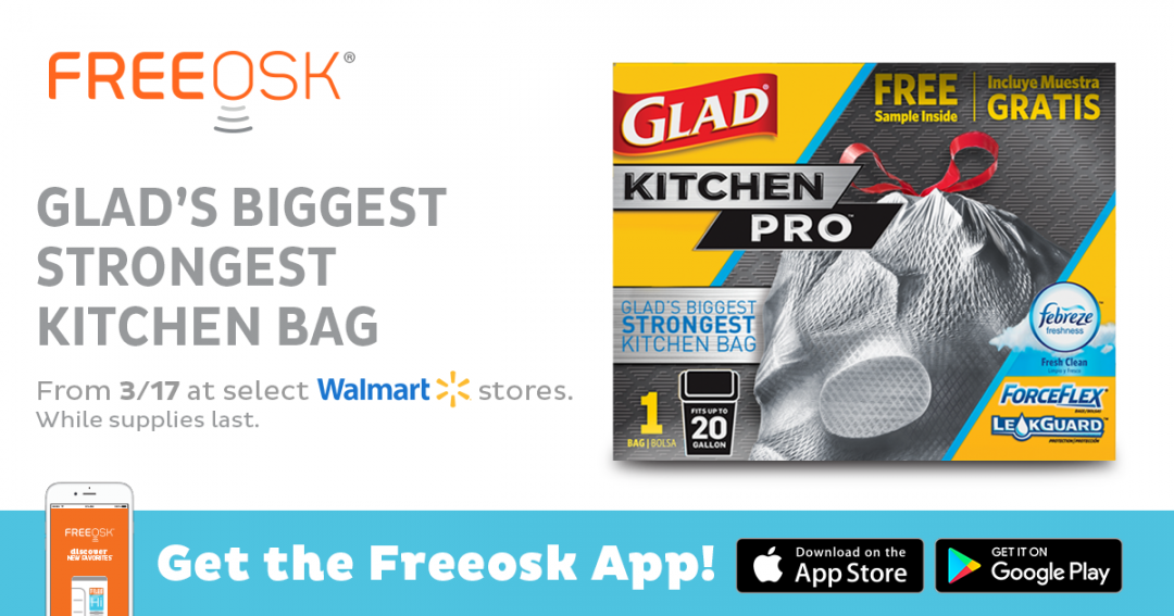Glad Coupons. Get ready to stock-up on Glad tall kitchen and trash bags at Giant Eagle! Starting Thursday, 5/12/16, Giant Eagle will have Glad bags on sale for $3 off plus we have matching Glad Trash Bags coupons!!