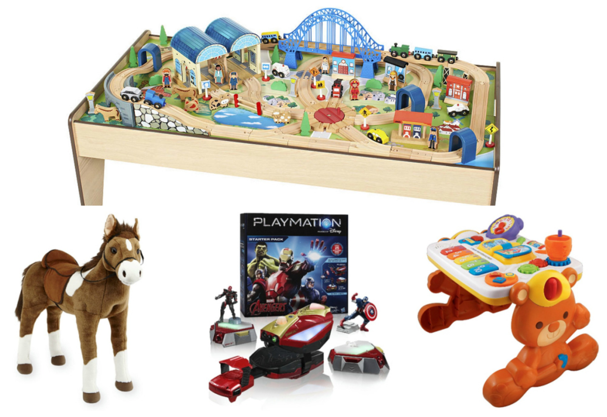 Imaginarium All-in-One Wooden Train Table Only $51.99 Shipped (Reg ...