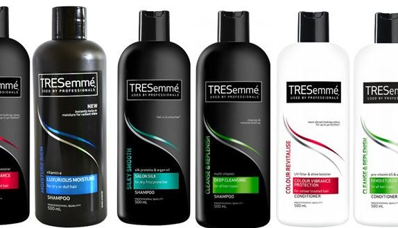 cvs  tresemme shampoo or conditioner for  1 50 per large bottle