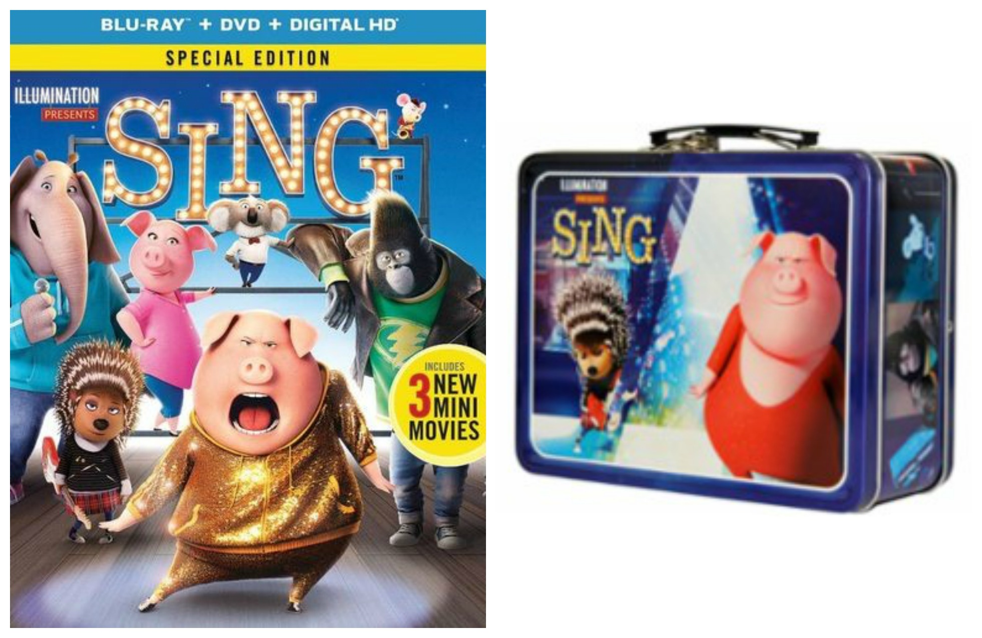 Sing Blu Ray Dvd Digital Copy Only 12 99 Reg 25