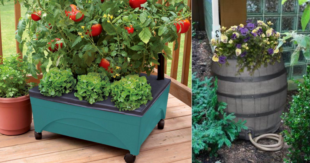 Up To 30 Off Raised Garden Beds Rain Barrel Kits More