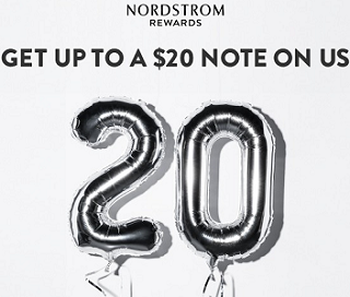 For all you Nordstrom lovers out there! You can score a FREE $10 or $20 Nordstrom Certificate!