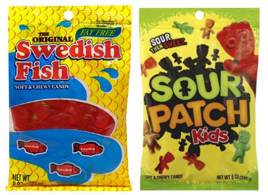 Target swedish fish or sour patch kids for for Sour swedish fish