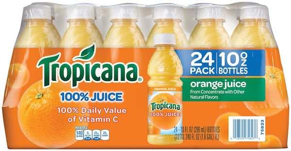 Orange juice coupons