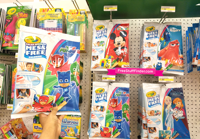 Target: Crayola Color Wonder Coloring Pad & Marker Set Only $5.39 ...