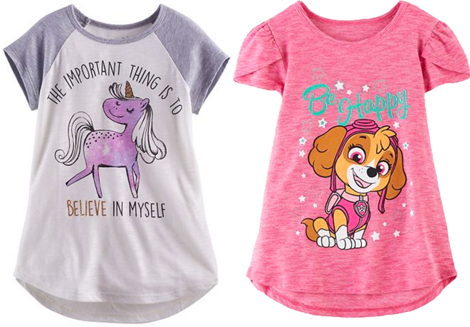 3ca2c3042 Calling all Kohl's shoppers! Check out this great deal on Jumping Beans Girls  Graphic Tees for only $5.60! Keep in mind that shipping is FREE on order  over ...