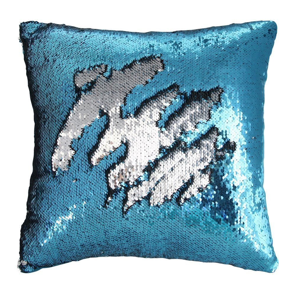 Right Now 13 Deals Has This Mermaid Magic Sequin Pillow Or