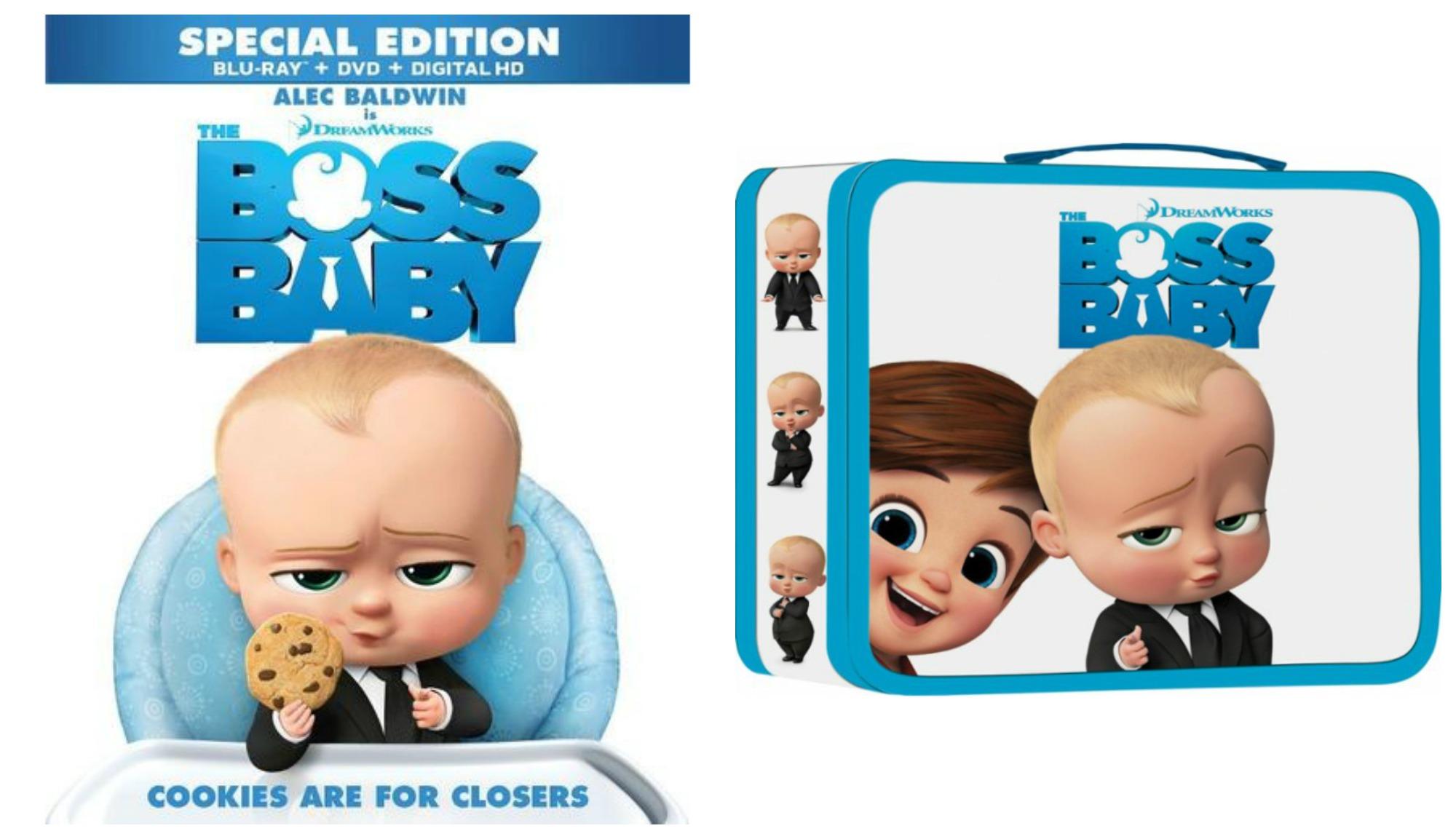 The Boss Baby Blu Ray Dvd Only 19 99 Reg 25 Free Boss Baby Lunch Box