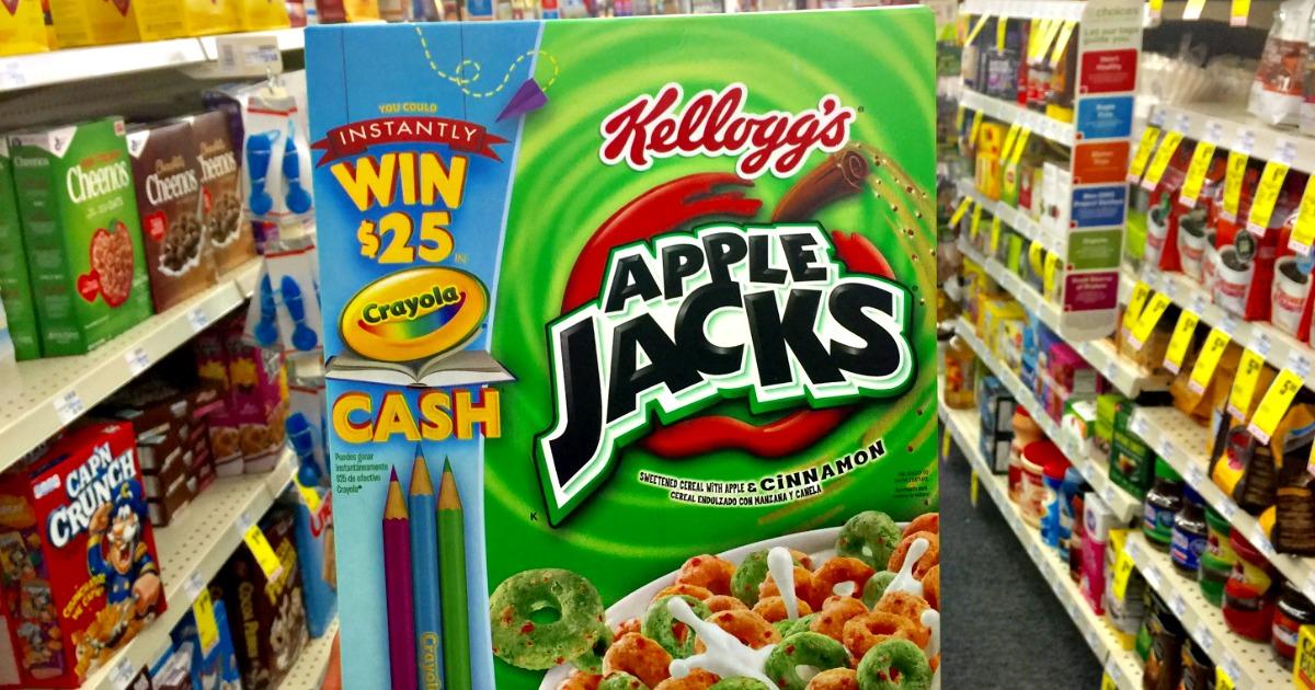 Apple Jacks Cereal Coupon