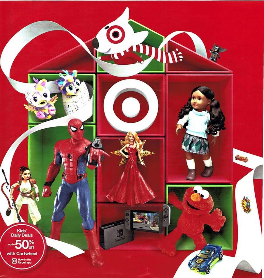 Target coupon toy book 2018