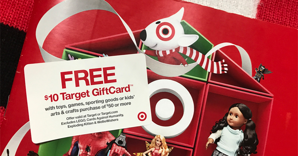 Target Toy Catalog : Target holiday toy catalog released possible gift card