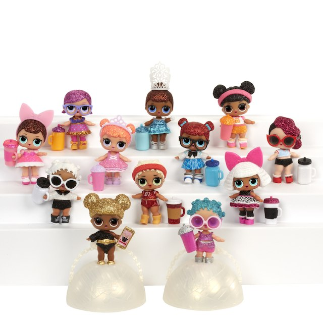 L.O.L Surprise! Glitter Series Doll ONLY $10.99
