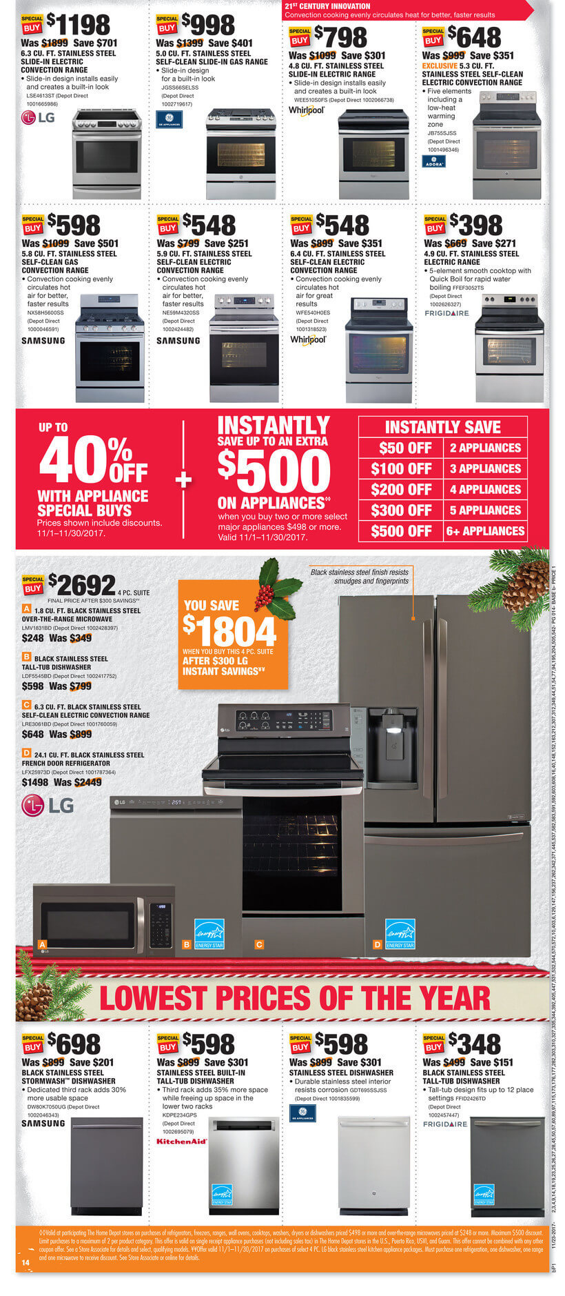 Appliance Buying Guide And Top Deals For Black Friday B Best Buy Black Friday Ad Washer Dryer