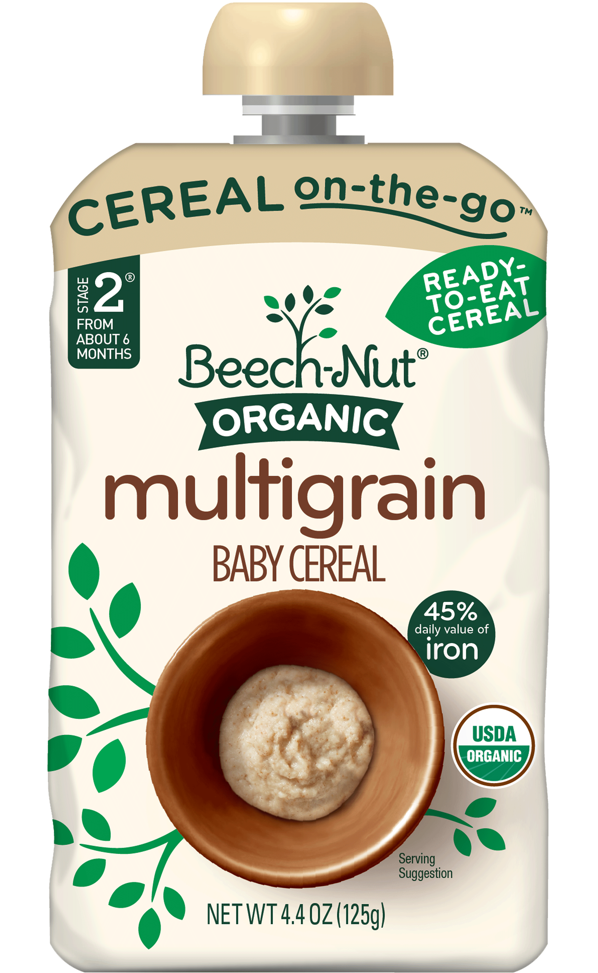 Target Beechnut Organic Baby Cereal Pouches Only 0 25