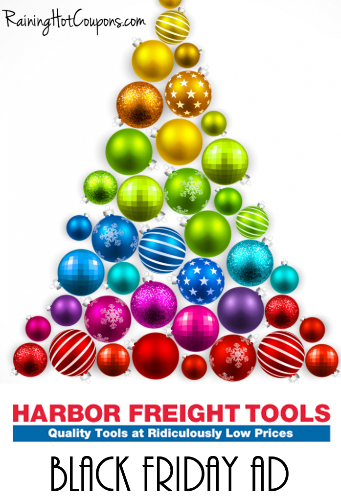 Harbor Freight Christmas Eve Hours.Harbor Freight Black Friday Ad 2018 Is Available Now