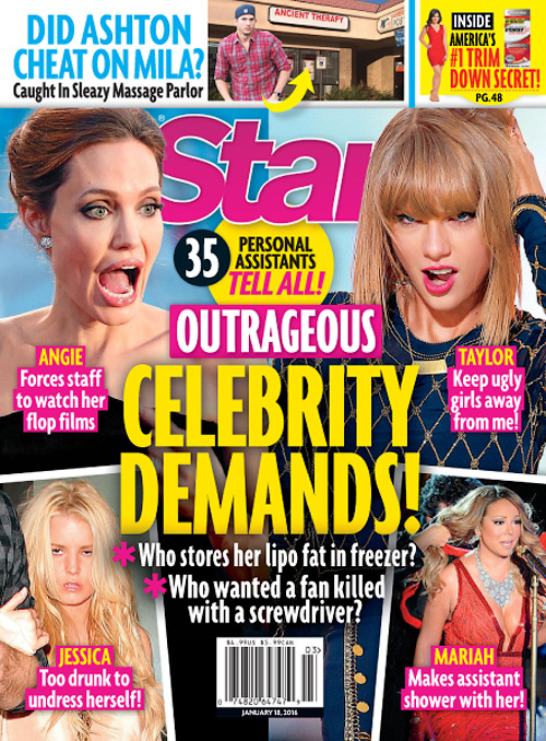 Celebrity magazine subscription