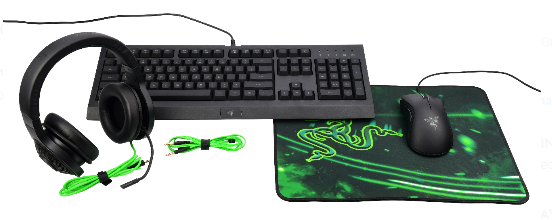 ad51d9108f1 If you have a PC gamer in your life, you will not want to miss this deal!  Right now at Walmart you can score this Razer 4-Piece Gaming Bundle for  only $99!