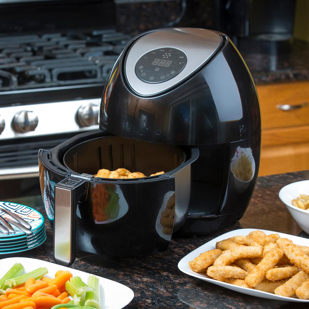 Wow while supplies last today only you can get this Modern home air fryer
