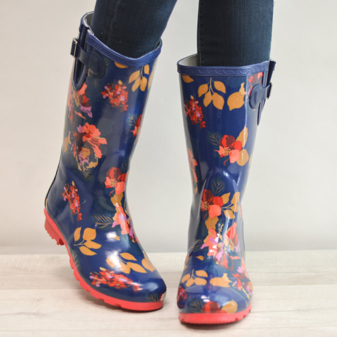 Fun Patterned Rubber Rain Boots Only 6060 Reg 60 Choose From Adorable Patterned Rain Boots