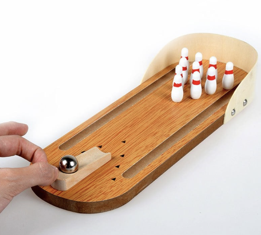 How Fun Is This Mini Desktop Bowling Set Would Be Great For The Office Or Even Kids Grab A Gifts