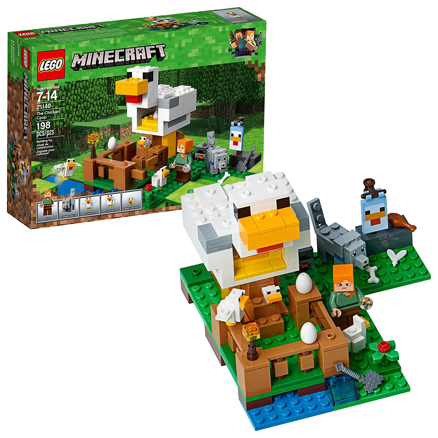 lego minecraft the chicken coop building kit only  15 99  reg   20