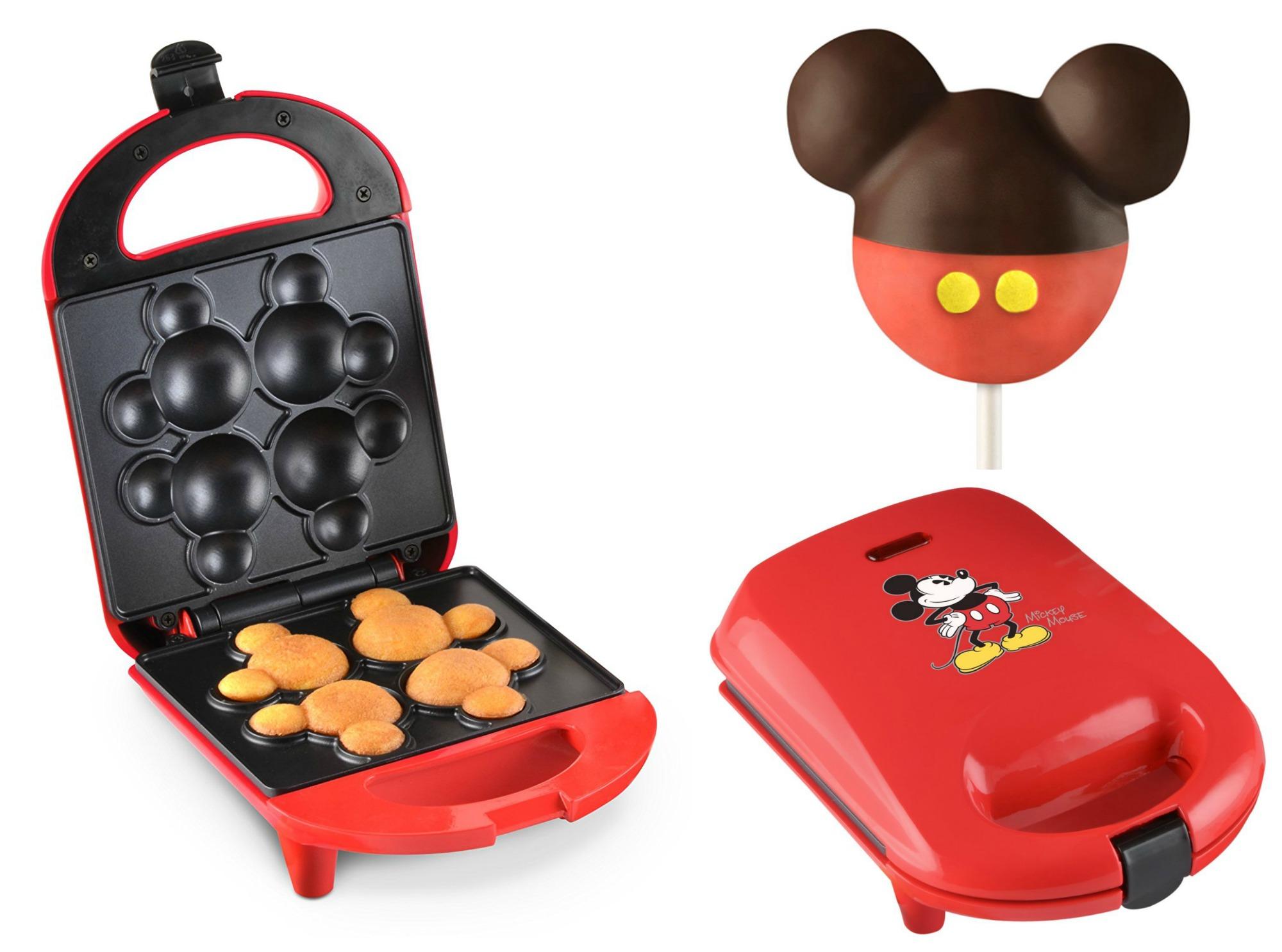 disney mickey cake pop maker only reg 25. Black Bedroom Furniture Sets. Home Design Ideas