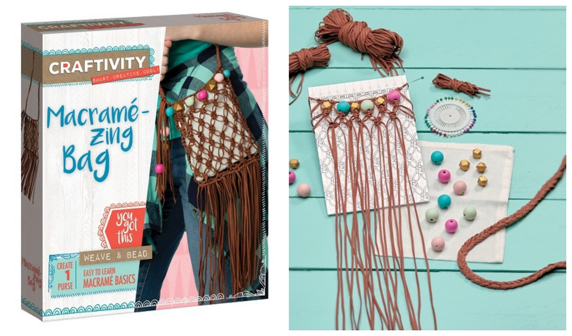 Craftivity macrame zing bag craft kit only 848 reg 17 right now at target you can score this craftivity macrame zing bag craft kit for only 848 this kit is a great easter gift idea negle Choice Image