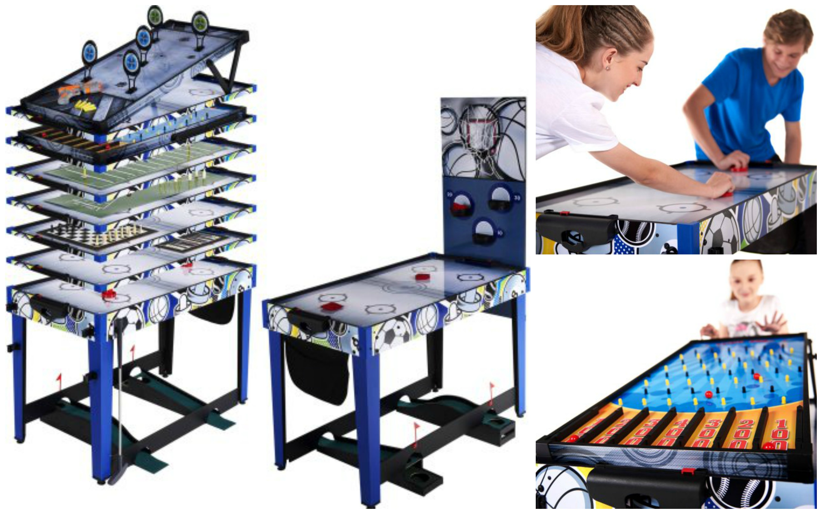 Md sports 48 inch 13 in 1 game table only 55 reg for 13 in 1 game table