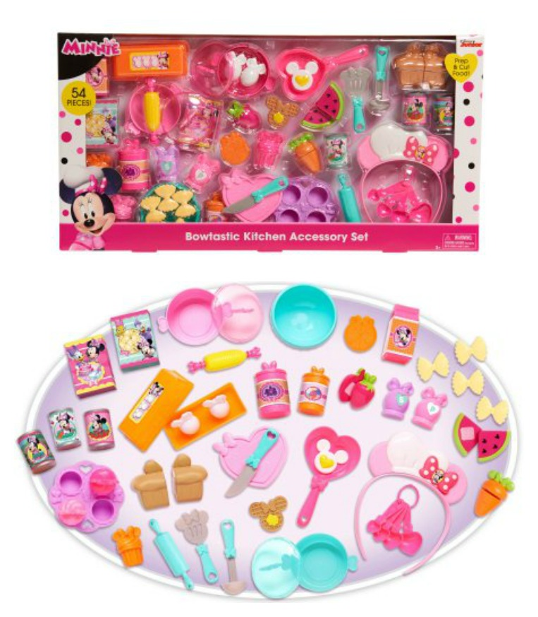Minnie Bow Tique Bowtastic Kitchen Accessory Set Only 9